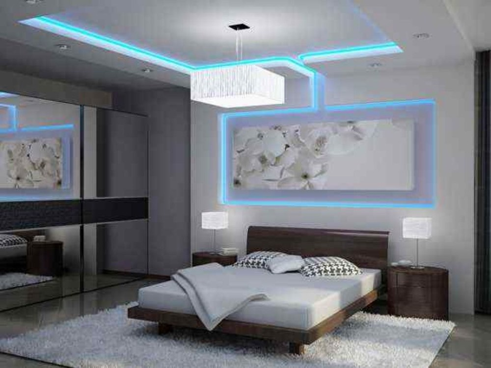 Plafon Kamar Indirect Lighting