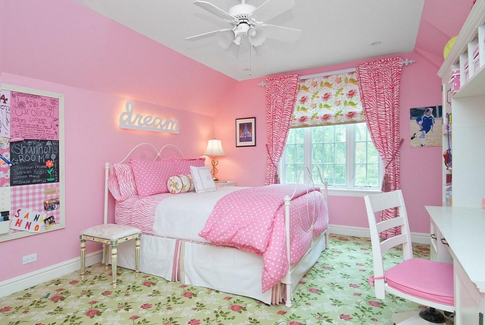 Warna Cat Dalam Rumah Pink