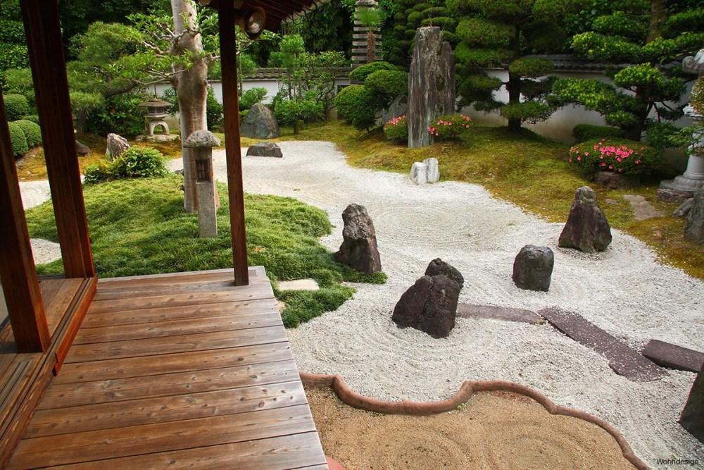 Zen garden tradisional