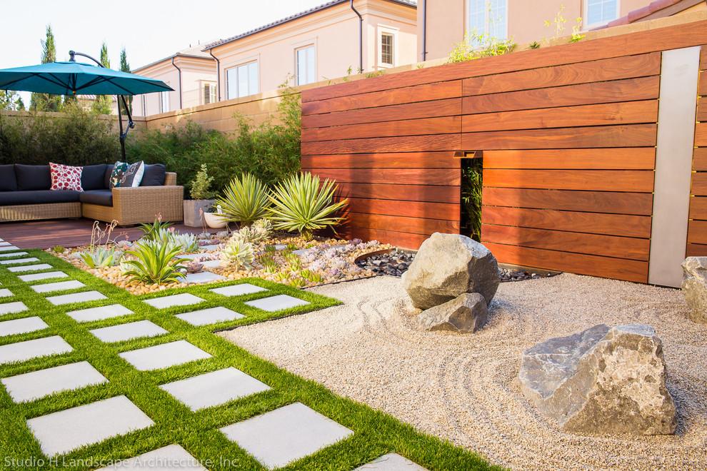 Zen garden modern