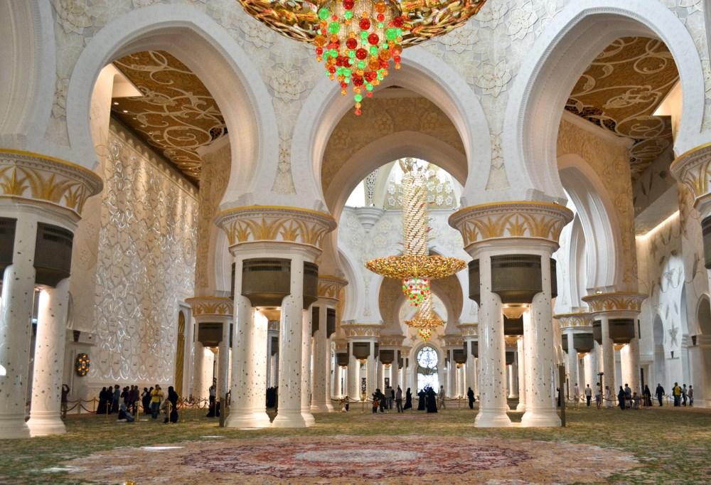 Masjid Sheikh Zayed, Abu Dabhi, Uni Emirat Arab