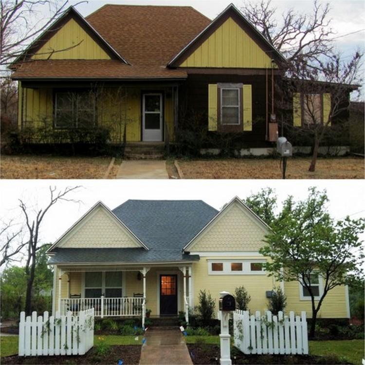 Rumah tua yang direnovasi menjadi lebih nyaman dan minimalis