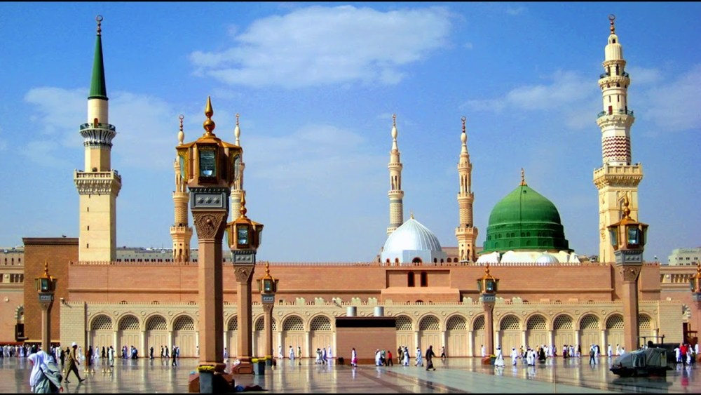 Masjid Al-Nabawi, Madinah, Saudi Arabia
