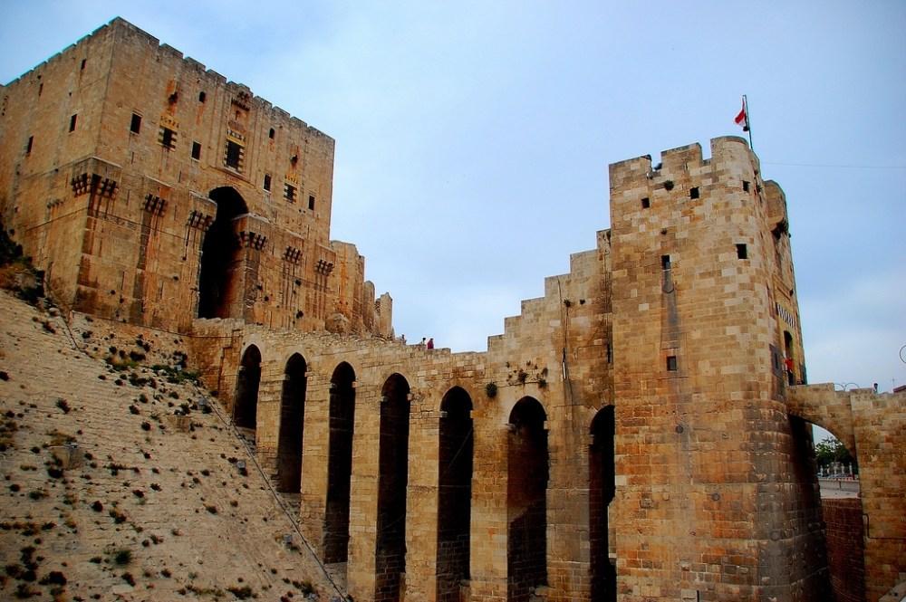 Arsitektur Islam The Citadel di Suriah