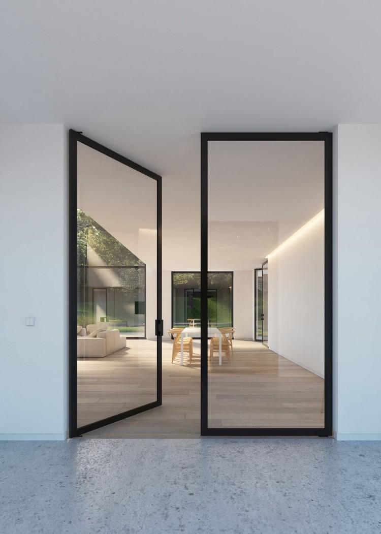 Simpel Dan Gaya Ini 6 Desain Hunian Dengan Pintu Kaca