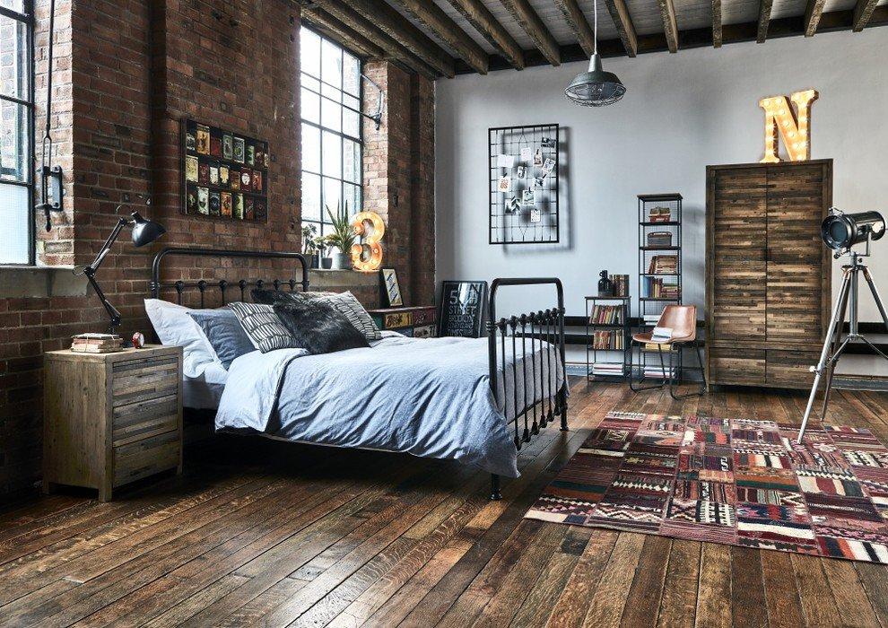 Dinding Bata Sebagai Bedhead Tempat Tidur