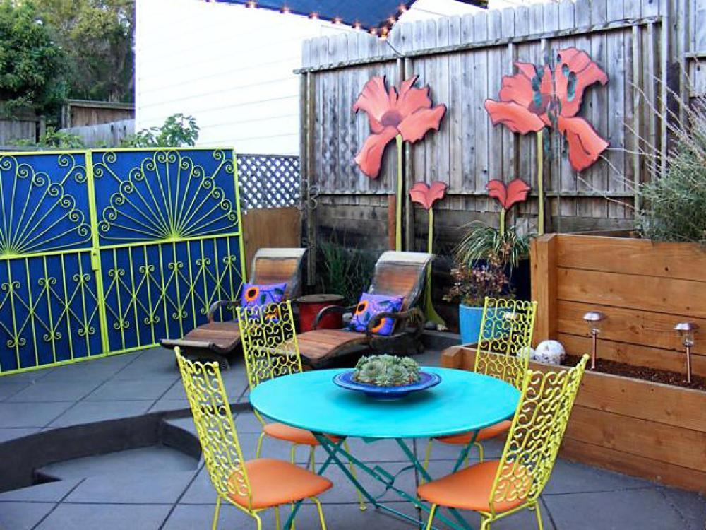 Warna- Warni Indah Taman Halaman Rumah