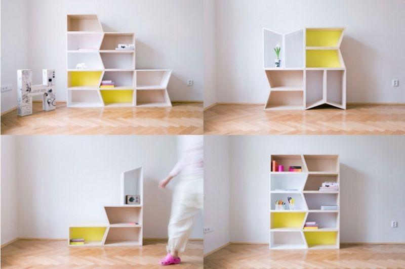 Design Interior Rumah Minimalis Bentuk Geometris yang Lebih Dinamis