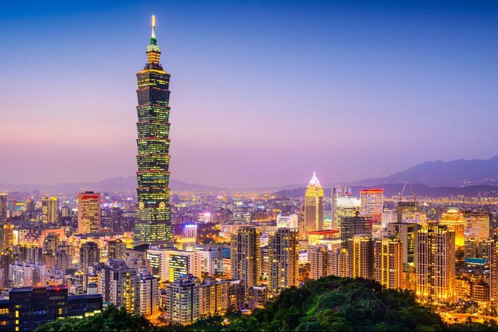 Gedung Pencakar Langit Taipei