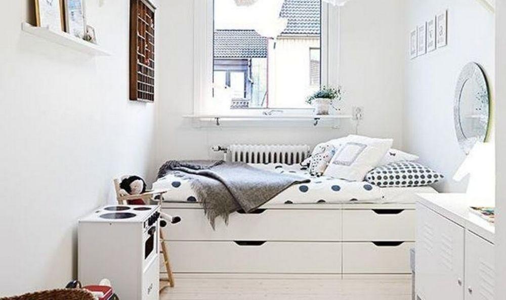 Platform bed dengan storage