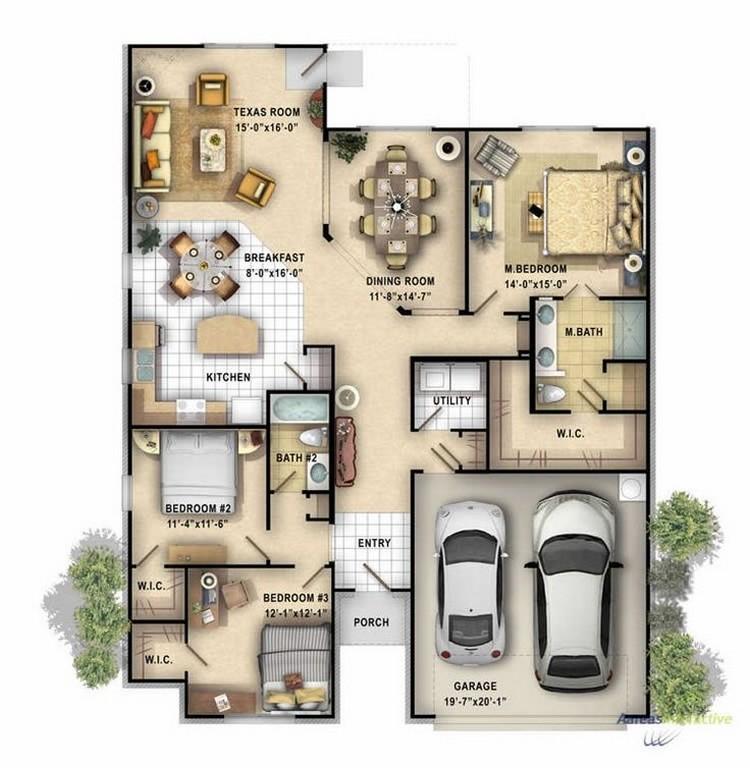 Rumah Indah Ga Harus Mewah Ini Dia Desain Rumah 1 Lantai Impian