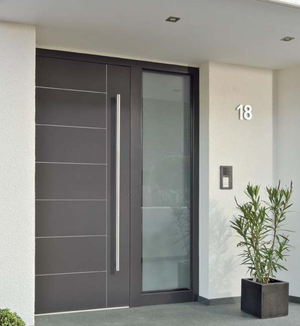 Kusen Pintu Minimalis dengan Sentuhan Alumunium
