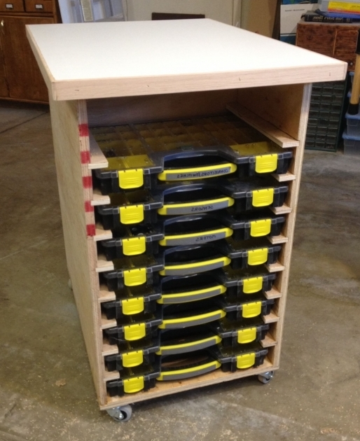 Fascinating Garage Shop Storage Bins For Small Parts Nuts