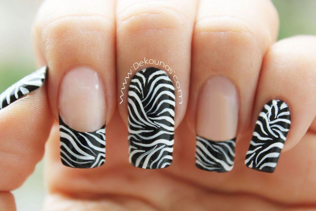 Decoración de uñas animal print1-1