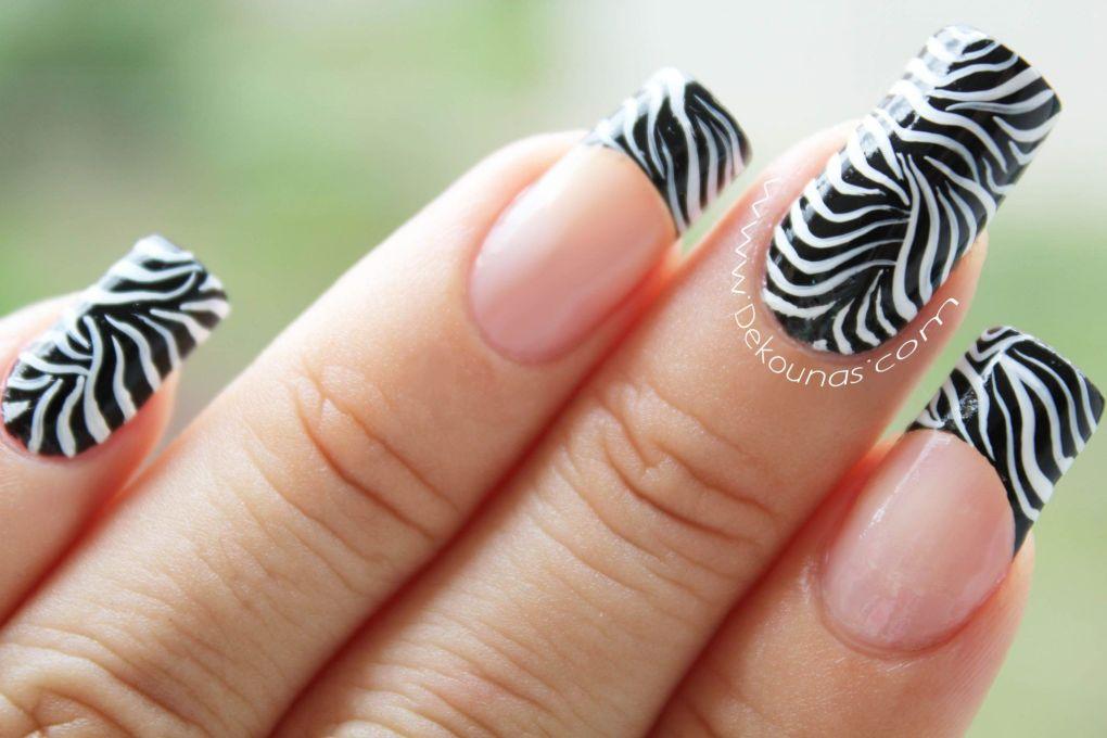 Decoración de uñas animal print2-2