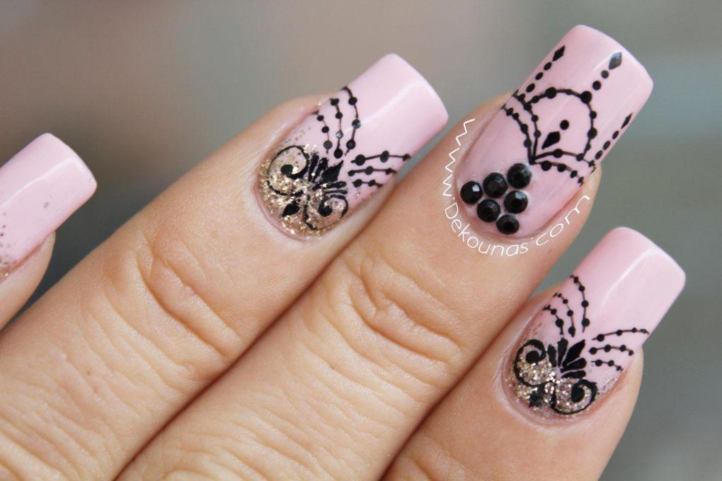 Decoración de uñas Glamour3