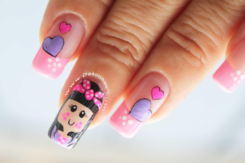 Diseño de uñas muñeca3