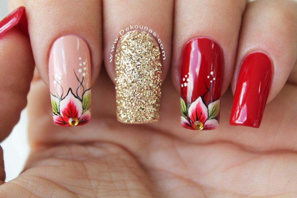 Flores rojas2