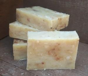 Kamille goudsbloem zeep