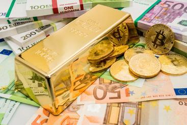 goud bitcoin geld