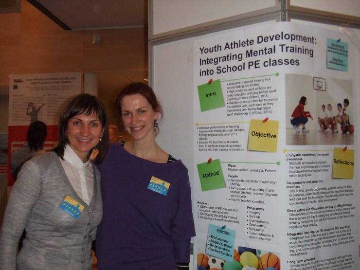 Rita & Elena at ENYSSP Workshop 2013