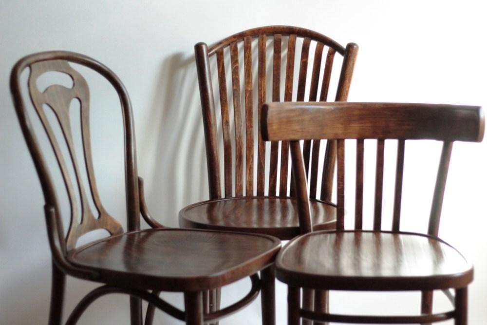 krzesło gięte, odnawianie mebli