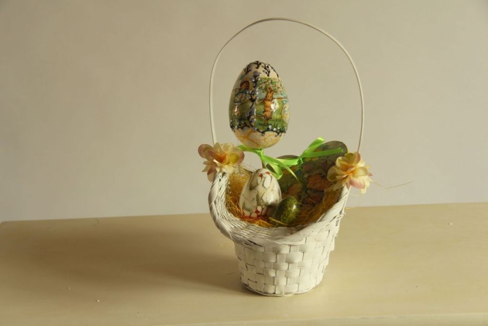 Wielkanoc dekoracje decoupage