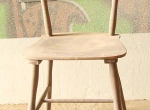 krzesło PRL odnawianie mebli