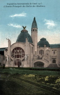 gentoudwereldtentoonstelling1913hoofdingangmachinehallen