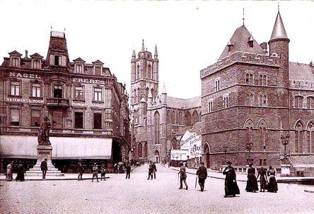 St.-Baafskathedraal 1901