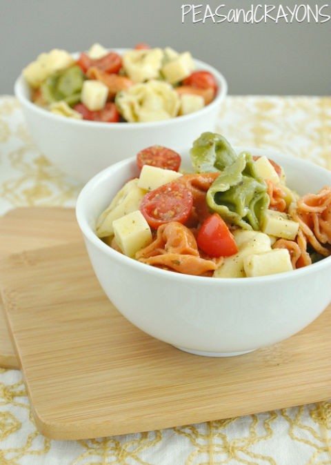 Fact: Pasta is just as good cold. Get the recipe from Peas and Crayons.