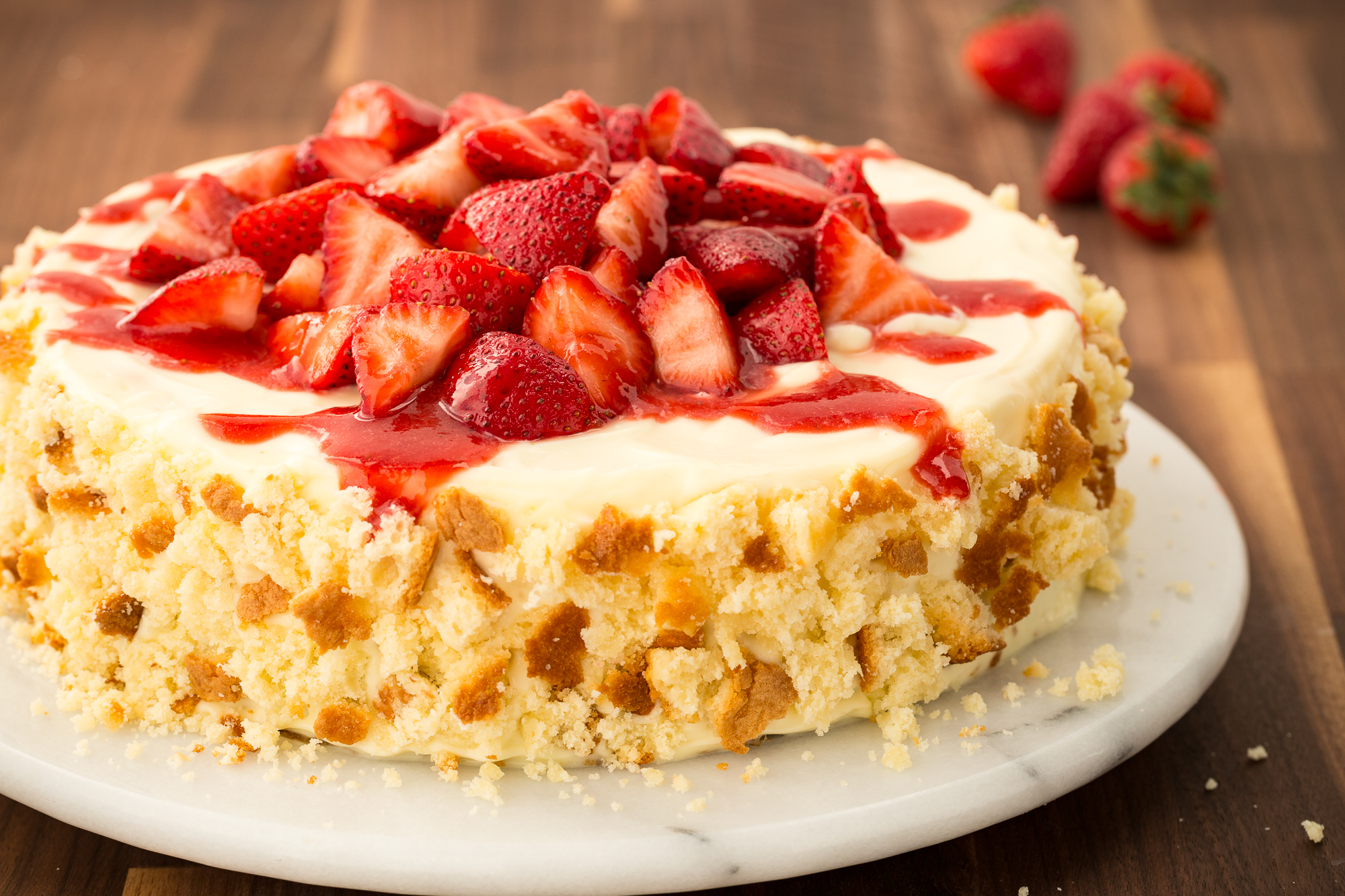 Easiest Strawberry Shortcake Recipe