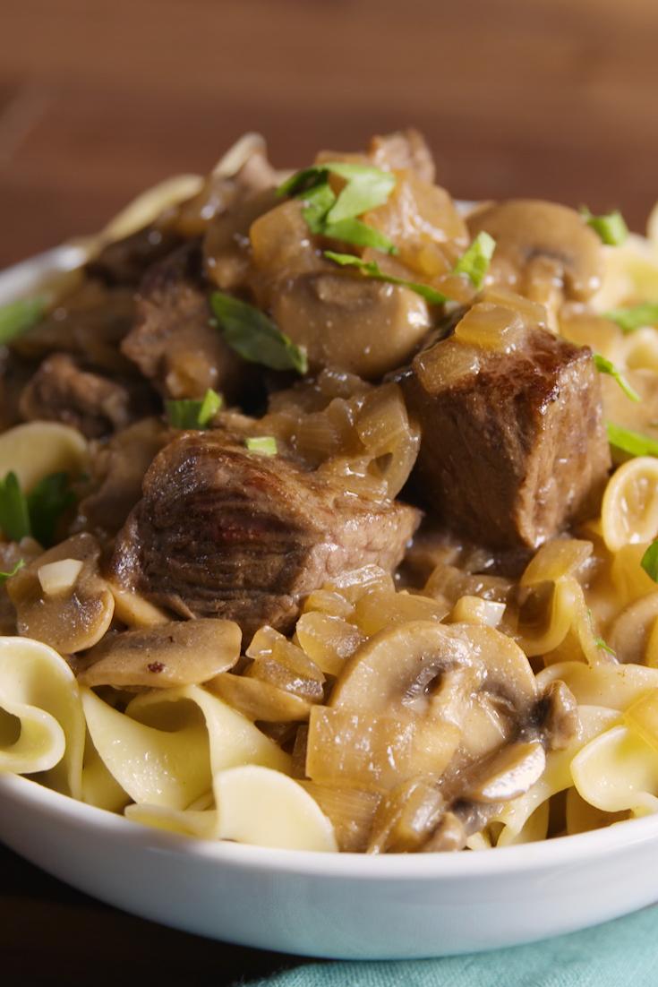 Easy Beef Stroganoff Recipe - How To Make Best Homemade ...