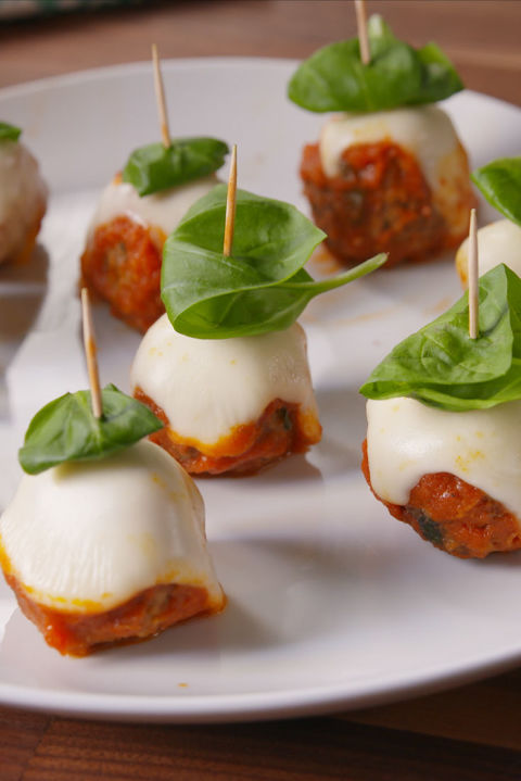 All the flavor of meatball parm in one perfect bite. Get the recipe from Delish.