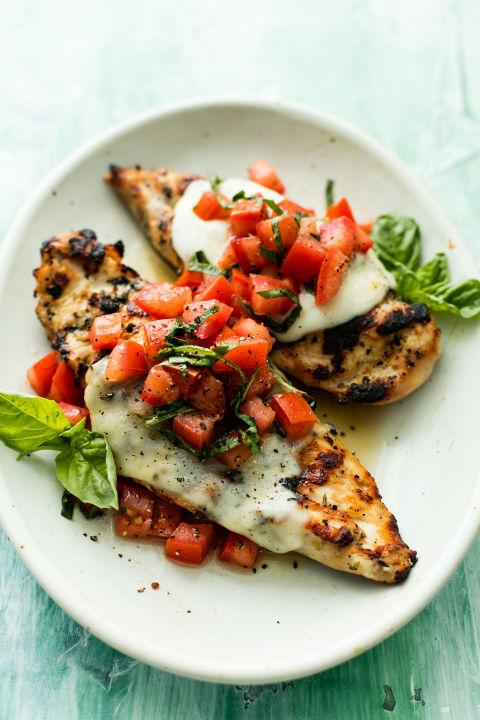 Best Grilled Bruschetta Chicken Recipe How To Make Grilled