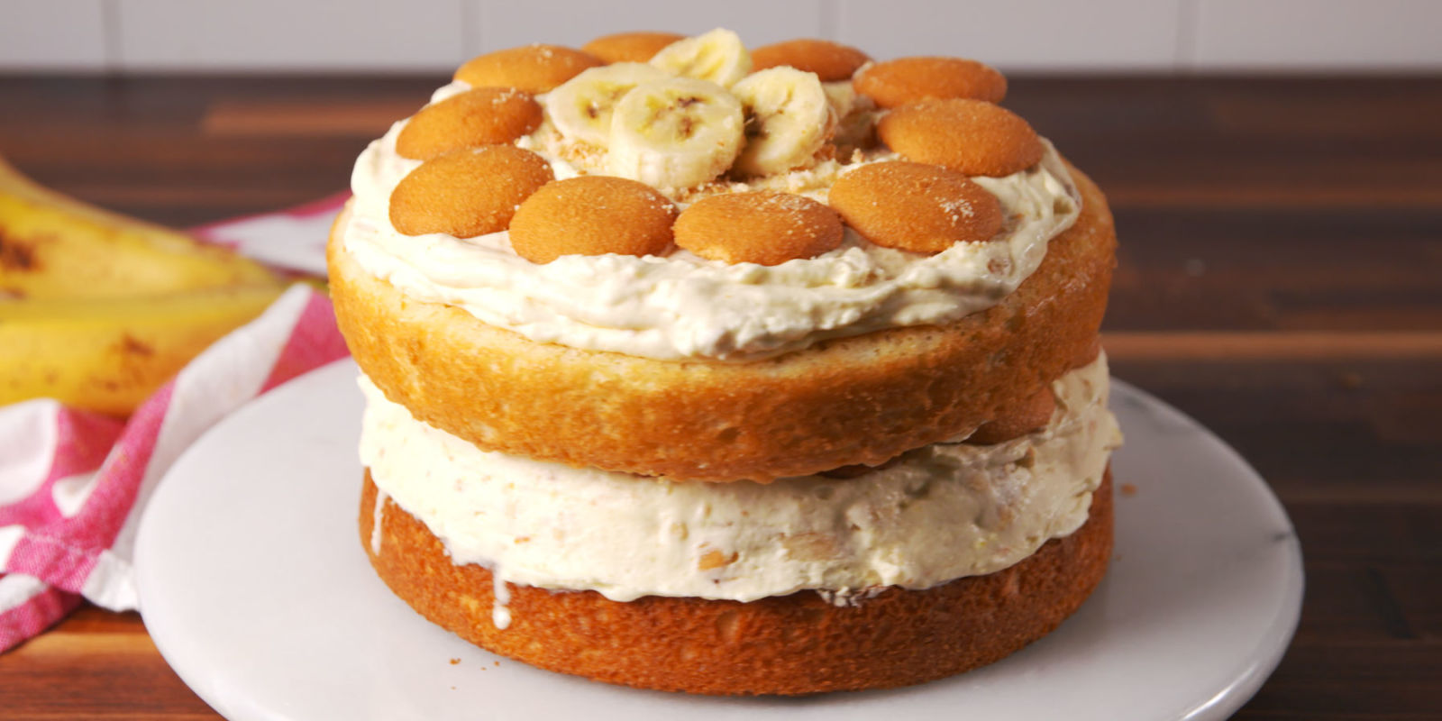 The Best Banana Pudding Ice Cream Cake Recipe How To