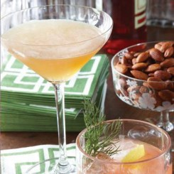 Although Paris with Petrovsky didn't work out, France will always be in Carrie's heart, from the fashions that made her famous to her elegant joie de vivre. Give your evening some French flair with this cognac-enhanced sparkler.Recipe: French 75