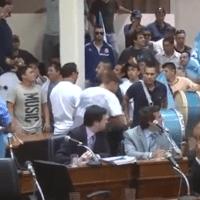 Violencia en el Concejo: confirmaron la condena a Ricardo Pera