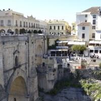 Ronda, Espagne–Du haut de mon pont