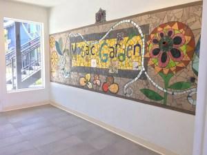Mosaic Garden Apts Entry