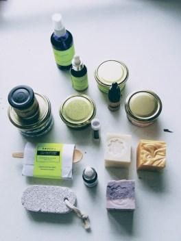 săpun și produse de îngrijire de la Irina