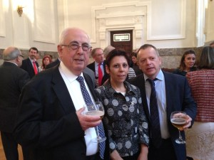 Don Pedro, Doña Azucena y Don Xulio