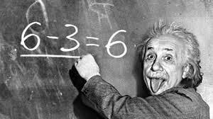 Einstein pizarra