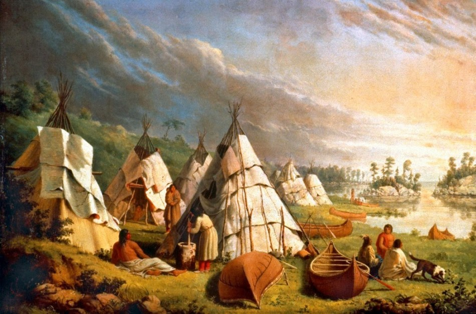 potawatomi encampment Lake Huron
