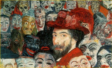 Mantendo o Surreal - james ensor