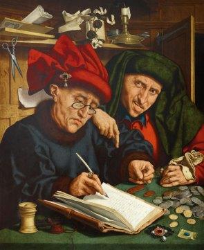Dos recaudadores de impuestos de Quentin Massijs