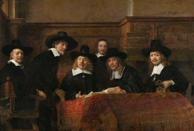 Syndics-of-the-Drapers-Guild-1662-Rembrandt-van-Rijn