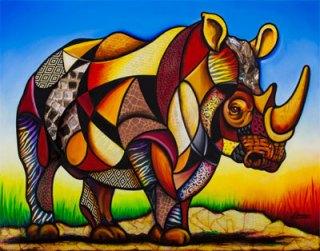 cubist-rhino