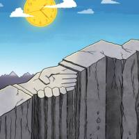 Para ser feliz con la abogacía : Remad y vivid