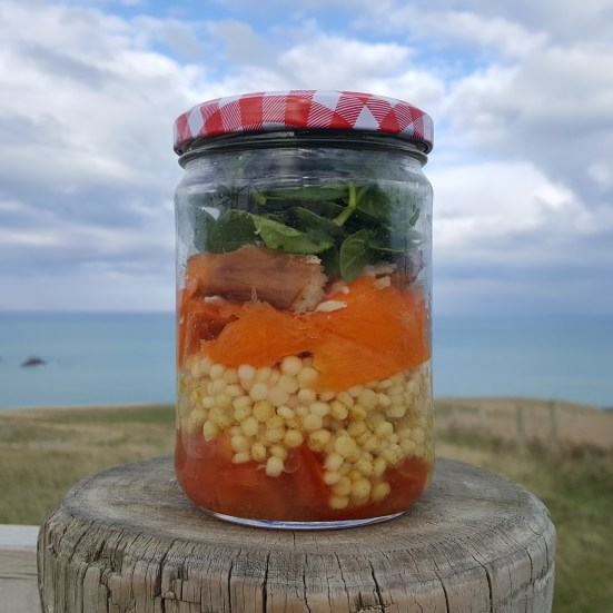 Summer Salad Jar; Delalicious